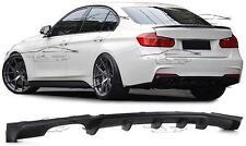 REAR DIFFUSER SPOILER LIP BUMPER FOR BMW F30 M SERIES 3 SALOON 2011 BODY KIT