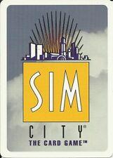 SIM-CITY CCG - 100 ASSORTED CARDS