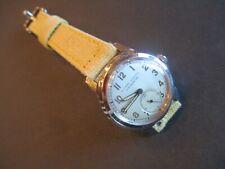 Vintage Ulysse Nardin Chronometer Wristwatch 17 Jewel  Manual Wind