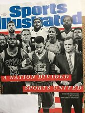 Sports Illustrated Oct 2, 2017, A Nation Divided, Indians, Ships Anywhere Today!