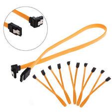 Serial SATA ATA RAID DATA HDD Hard Drive Signal Cable Straight-Right Angle 5pcs