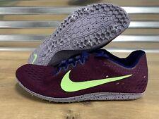 Nike Zoom Matumbo 3 Track Spikes Brodeaux Purple Green SZ ( 835995-600 )
