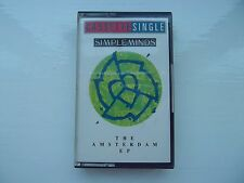CASSETTE SINGLE - SIMPLE MINDS THE AMSTERDAM EP - EXCELLENT CONDITION