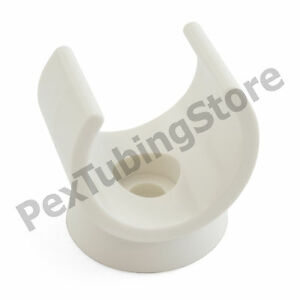 """(80) Snap-in Plastic Clips for 3/4"""" PEX Tubing, Copper, CPVC Pipe"""