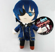 "Black Butler Ciel Phantomhive 10"" inches Plush Doll by Gift New with Tags"