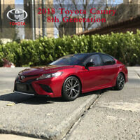 Original Toyota Camry 8th Generation 2018 Car Diecast Model in 1:18 Scale Red