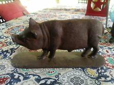 Cast Iron Pig Door Stop