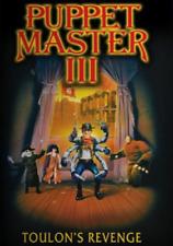 Puppet Master 3 Toulons Revenge  (DVD, 1991, Widescreen)  Brand New