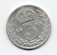 Great Britain - Engeland - 3 Pence 1892