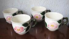 Villeroy & Boch Wild-Rose 4 Kaffee Tassen aus Nachlass