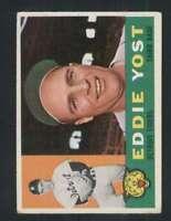 1960 Topps #245 Eddie Yost EX/EX+ Tigers 84800