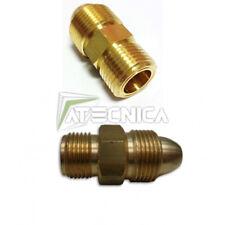 Adattatore per riduttore di pressione bombola Argon CO2 nipplo gas DECA 010571
