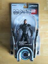 MASS EFFECT 2 DC UNLIMITED ACTION FIGURE COMMANDER SHEPARD NEW FACTORYSEALED BOX