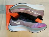 NIKE Zoom Fly 3 Mens Shoes Hyper Violet/White-Black Size 11.5 AT8240 500