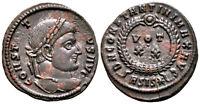 CONSTANTINE THE GREAT (320 AD) Ae3 Follis. Siscia #RB 6279