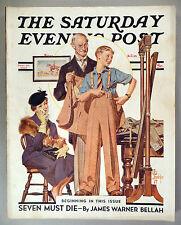 Saturday Evening Post - September 18, 1937 ~~ J.C. Leyendecker cover