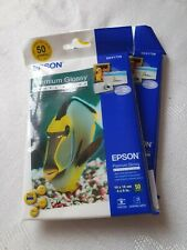 Epson 100 Premium Glossy Photo Paper 10x15cm 4x6 Inches