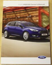 2001 ford focus uk owners manual pdf