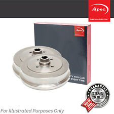 Fits Mitsubishi L200 2.4 D 4WD Genuine OE Quality Apec 6 Stud Brake Drums