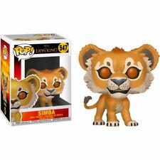 Lion King (2019) - Simba (Lion) Pop! Vinyl Figure NEW Funko