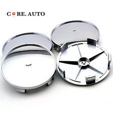 4PC X 69mm/ 64mm Silver ABS Car Auto Wheel Center Hub Caps