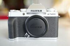 Fujifilm X-T200 24.2MP Mirrorless Camera - Silver Body Only, Excellent Condition