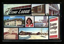 South Carolina SC postcard Charleston, Econo Travel Motor Hotel Econo Lodge