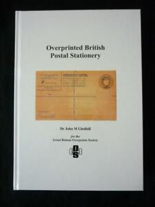 OVERPRINTED BRITISH POSTAL STATIONERY by GLEDHILL (CYPRUS GOLD COAST LEVANT ETC)