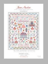 JANE AUSTEN SAMPLER KIT Counted Cross Stitch by Riverdrift House