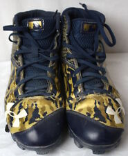 Under Armour Mens Camouflage High Top Rubber Cleat Shoes Size 7.5