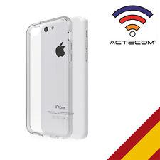 ACTECOM® FUNDA GEL TERMOPLASTICO PARA IPHONE 5C TRANSPARENTE+PROTECTOR PANTALLA