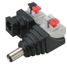 DC-Niedervolt-Kupplung + STECKER 5,5 x 2,1 mm 12V/DC max. 6A Click Anschluss
