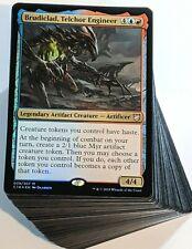 ***Custom Commander Deck*** Brudiclad Telchor Engineer - Artifact Tokens - Magic