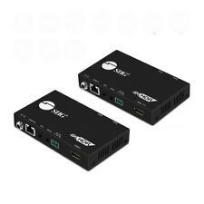 SIIG 4K HDR HDMI 2.0 HDBaseT Extender Over Single Cat5e/6 with RS-232 & IR - 60m