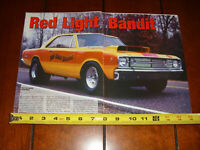 1968 DODGE HEMI DART - FACTORY RACE CAR  - ORIGINAL 2003 ARTICLE
