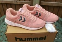 Mens Hummel Running Trainers Legend Marathona UK 10 Mellow Rose New And Boxed