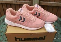 Mens Hummel Running Trainers Legend Marathona UK 9 Mellow Rose New And Boxed