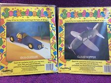 SOCKADOODLES GUZ GUZZLER AND CLOUD HOPPER LI'L JACK HORNER CRAFTS