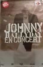 JOHNNY HALLYDAY: AFFICHE CONCERT ÇA NE CHANGE PAS UN HOMME, 80 x 120 cm