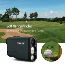 Boblov Digital Golf Laser Rangefinder Scope Fog Speed Measure 700M/Yard 6X21mm