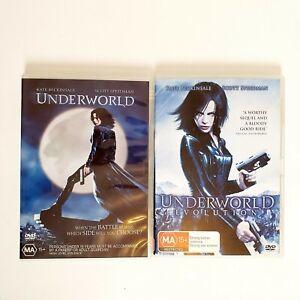 Underworld 2 x Movie DVD Bundle Region 4 AUS Free Postage Action Kate Beckinsale