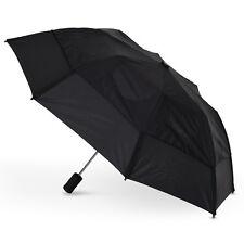 Gustbuster Metro Auto Vented Folding Umbrella - Black