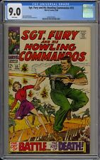 SGT. FURY AND HIS HOWLING COMMANDOS #55 - CGC 9.0 - 2008183005