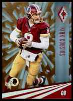 2016 PANINI PHOENIX ORANGE KIRK COUSINS 18/99 WASHINGTON REDSKINS #98 PARALLEL