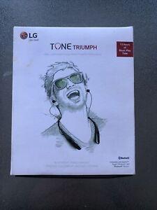 LG TONE HBS-510 Bluetooth Headset Triumph Wireless Earphones , New Sealed