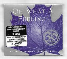 OH WHAT A FEELING 2 Collection of Canadian Music NEW 4 CD set