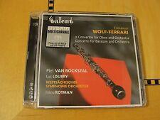 Ermanno Wolf-Ferrari - Concertos for Oboe Bassoon + - Super Audio CD SACD Hybrid