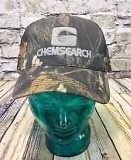 Vintage Chemsearch Mesh Camo Hat Trucker Farm
