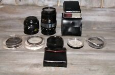 Lot Of 2 Minolta Lenses And Other Accessories See Pictures Great LOT