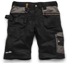 Scruffs Trade Flex Lightweight Ripstop Work Cargo Shorts /& FREE TRAVEL MUG